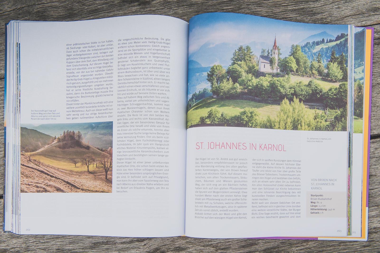 Mystische Orte in Südtirol - Innenseite