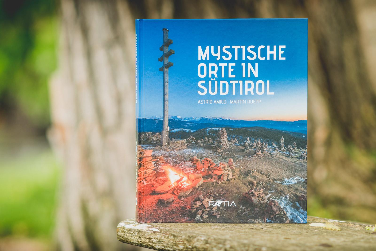 Mystische Orte in Südtirol - Buchcover
